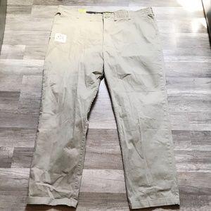 LEE X-Treme Comfort Khaki Pants NEW Size 50X32 Men